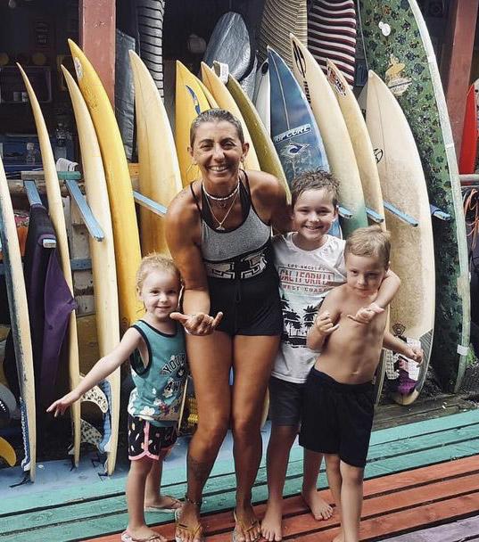 valeria como aprender a surfar